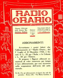 Anno 1925 Fascicolo n. 22