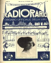 Anno 1926 Fascicolo n. 25