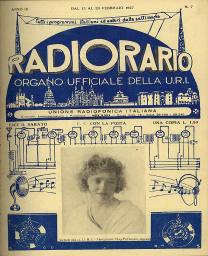 Anno 1927 Fascicolo n. 7
