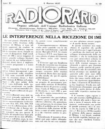 Anno 1927 Fascicolo n. 10