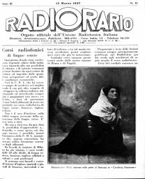 Anno 1927 Fascicolo n. 11