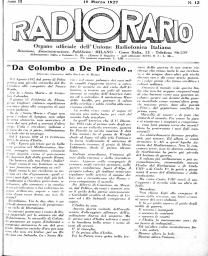 Anno 1927 Fascicolo n. 12