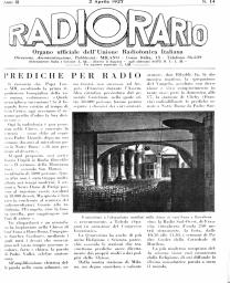 Anno 1927 Fascicolo n. 14