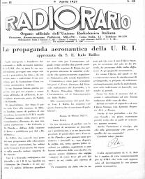Anno 1927 Fascicolo n. 15