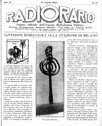 Anno 1927 Fascicolo n. 17