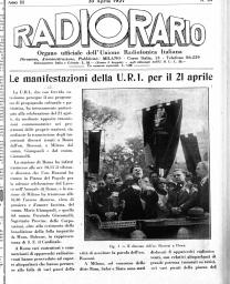 Anno 1927 Fascicolo n. 18