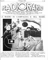 Anno 1927 Fascicolo n. 19