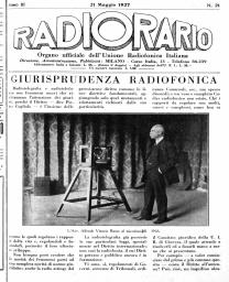 Anno 1927 Fascicolo n. 21
