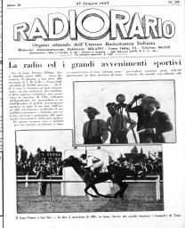 Anno 1927 Fascicolo n. 26