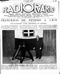 Anno 1927 Fascicolo n. 28