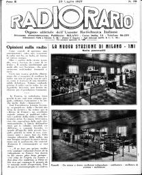 Anno 1927 Fascicolo n. 30