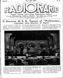 Anno 1927 Fascicolo n. 31