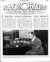 Anno 1927 Fascicolo n. 32