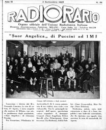 Anno 1927 Fascicolo n. 36