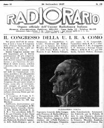 Anno 1927 Fascicolo n. 39