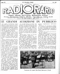 Anno 1927 Fascicolo n. 42
