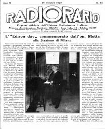 Anno 1927 Fascicolo n. 44