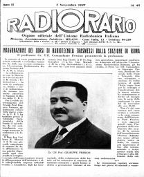 Anno 1927 Fascicolo n. 45