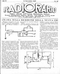 Anno 1927 Fascicolo n. 46