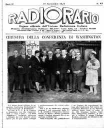 Anno 1927 Fascicolo n. 47
