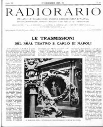 Anno 1927 Fascicolo n. 51
