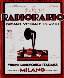 Anno 1928 Fascicolo n. 1
