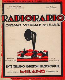 Anno 1928 Fascicolo n. 18