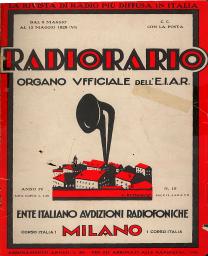 Anno 1928 Fascicolo n. 19