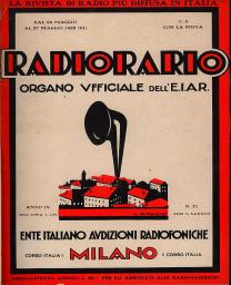 Anno 1928 Fascicolo n. 21