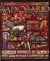 Anno 1929 Fascicolo n. 4