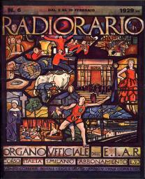 Anno 1929 Fascicolo n. 6