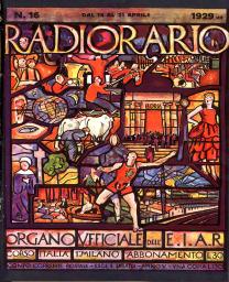 Anno 1929 Fascicolo n. 16