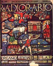 Anno 1929 Fascicolo n. 40