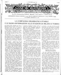 Anno 1929 Fascicolo n. 43