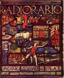 Anno 1929 Fascicolo n. 52
