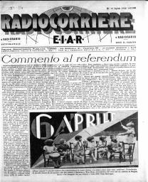 Anno 1930 Fascicolo n. 14