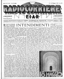 Anno 1930 Fascicolo n. 20
