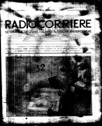 Anno 1932 Fascicolo n. 5