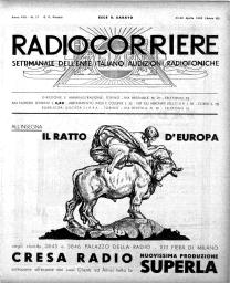 Anno 1932 Fascicolo n. 17