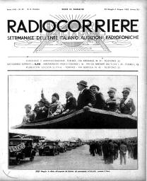 Anno 1932 Fascicolo n. 22