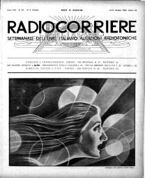 Anno 1932 Fascicolo n. 25
