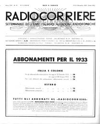 Anno 1932 Fascicolo n. 51