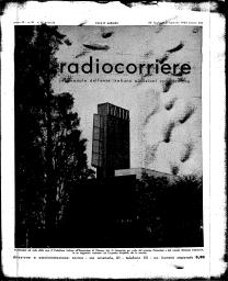 Anno 1933 Fascicolo n. 31