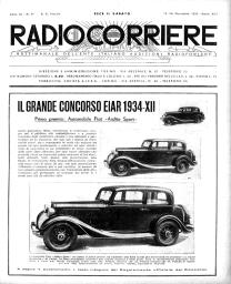 Anno 1933 Fascicolo n. 47
