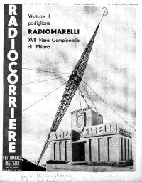 Anno 1936 Fascicolo n. 16