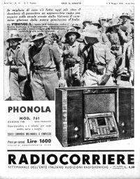 Anno 1936 Fascicolo n. 19