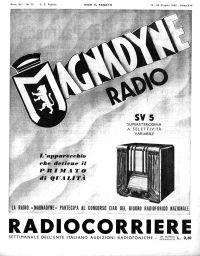 Anno 1936 Fascicolo n. 25