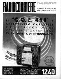 Anno 1936 Fascicolo n. 49