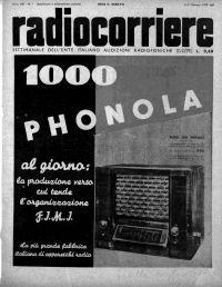 Anno 1937 Fascicolo n. 1
