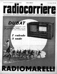 Anno 1937 Fascicolo n. 33